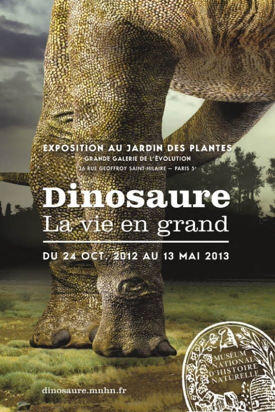 Nibelle et baudouin dinosaure la vie en grand exposition au mus um national d 39 histoire - Jardin des plantes paris dinosaures ...