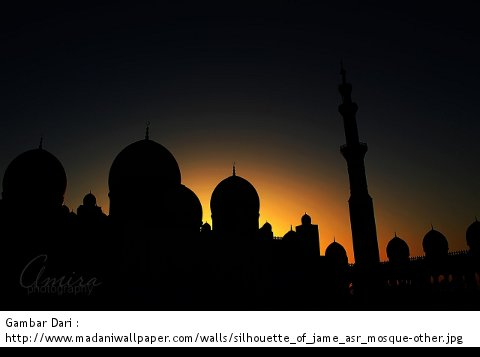 Siluet Masjid