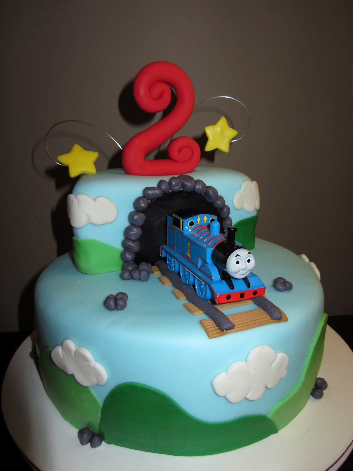 The Sweet Life!: Thomas The Train 2nd Birthday Cake