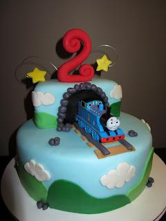 Train Nd Birthday Cake