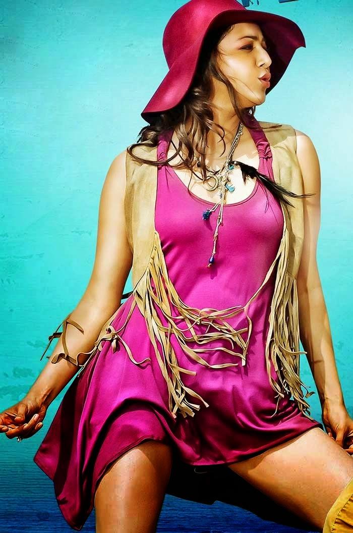 Kajal Agarwal Looks Hot In Temper Movie