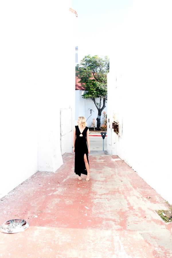 little black dress, maxi, summer, fashion, style