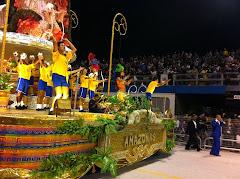Larissa Riquelme en Carnaval de Brasil