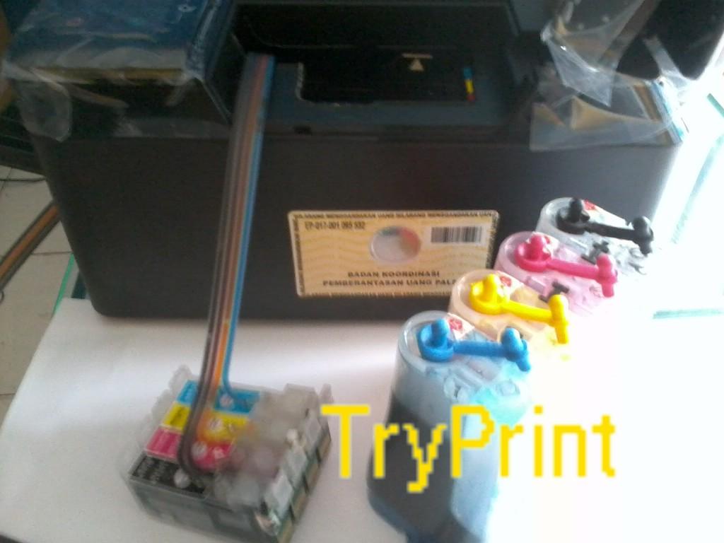 Cara Memasang Infus Epson TX121