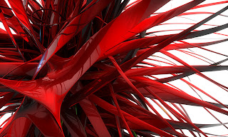 creamy waves red abstract wallpaper 1200X900