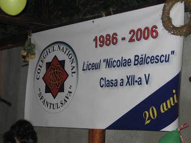 Balcescu 2006 - 20 ani dupa liceu