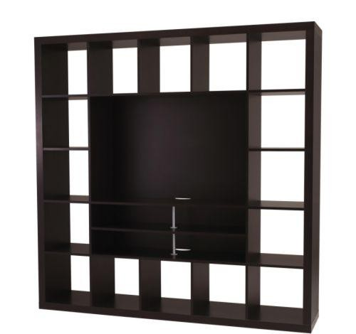 expedit ikea entertainment center. Black Bedroom Furniture Sets. Home Design Ideas