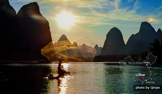 The Li River & Yangshuo