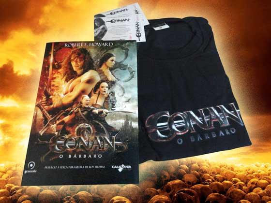 Conan - promoção