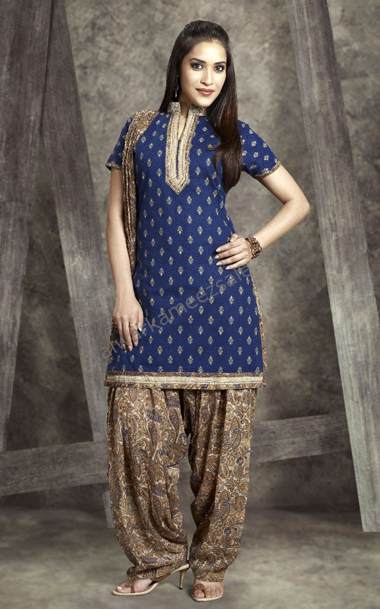 Latest Punjabi Patiala Salwar Suits