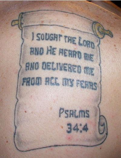 bible tattoos