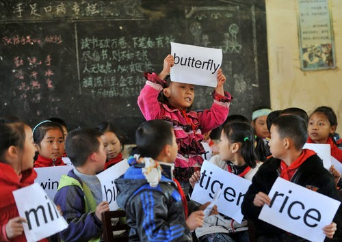 English in China How many English learners in China?