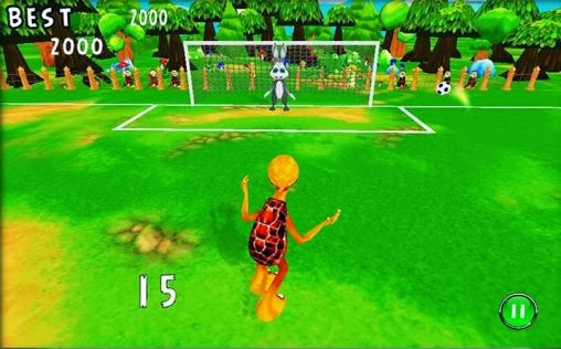 Hare vs Turtle Soccer Android FULL APK İNDİR