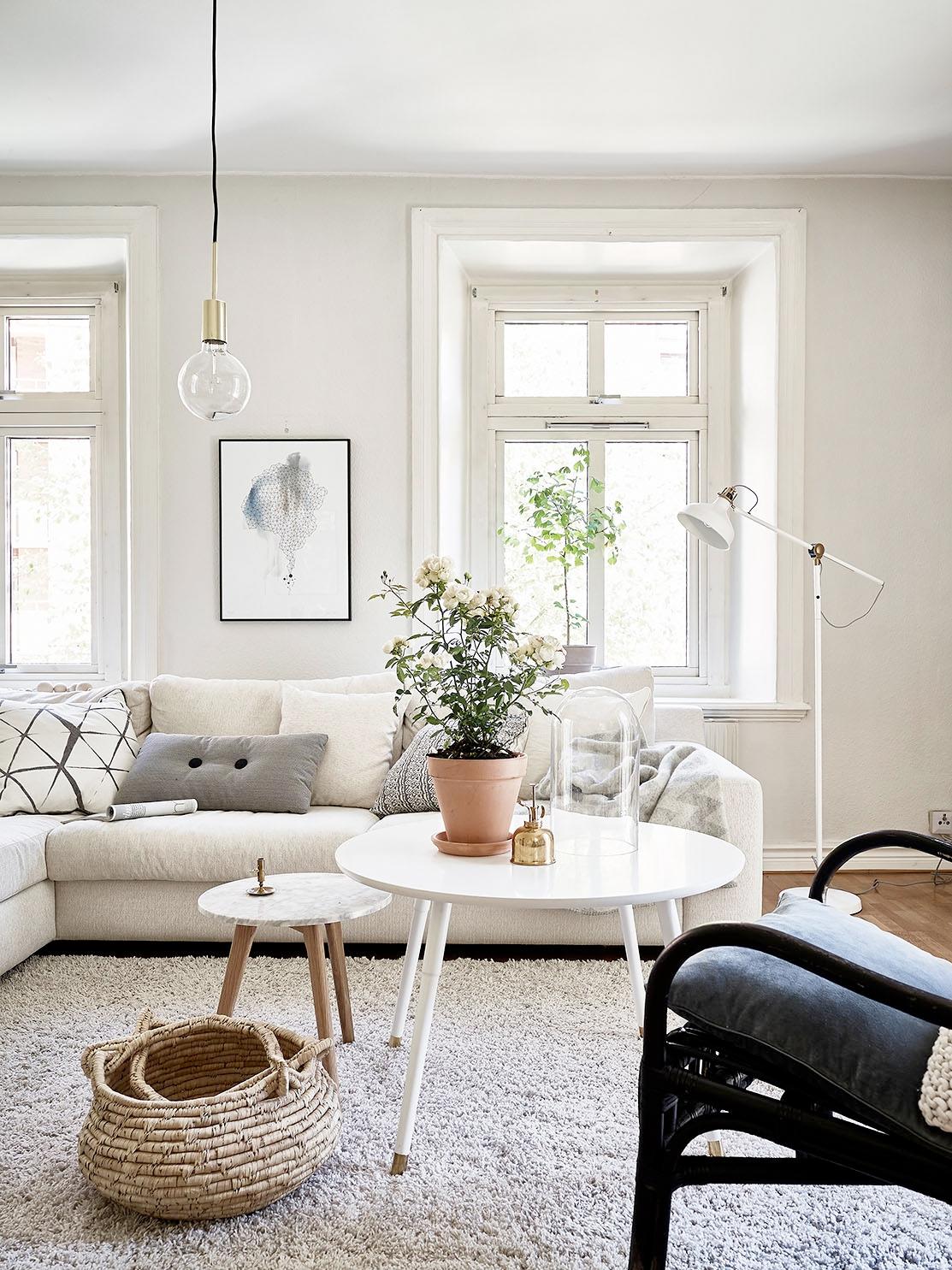 Binnenkijken: Zweeds appartement - Wonen, Maken & Leven