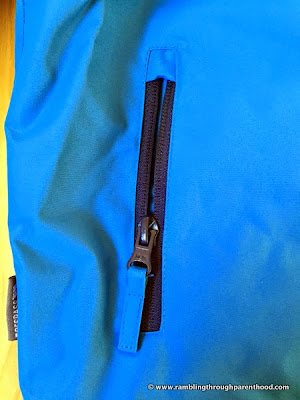 Zip pockets -Sulivan Boy's 3 in 1 Waterproof Jacket by Trespass