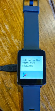 LG G Watch caught again in the wild