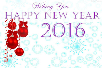 Happy New Year 2016 3D Wallpapers Free Download