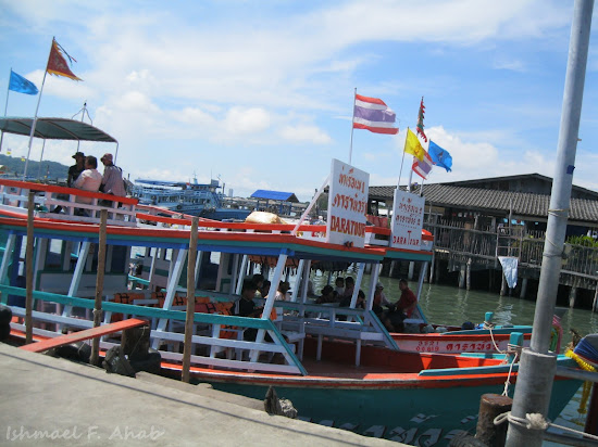 Boats to Koh Samet Island