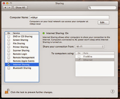 How to Share Internet Connection On Mac