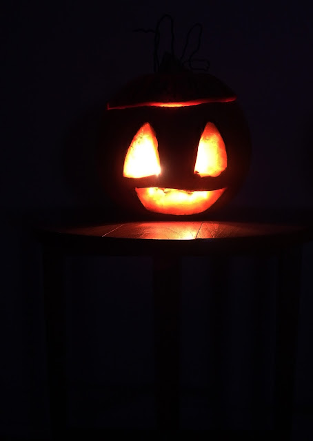Halloween on a splendour blog
