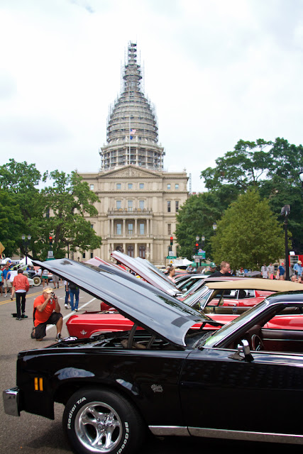 R.E. Olds Museum Car Capital Auto Show 2015, photo by Tammy Sue Allen Photography. Lansing, Michigan.