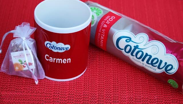 Cotoneve  dischetti extra soft con bacche di goji e vitamina c