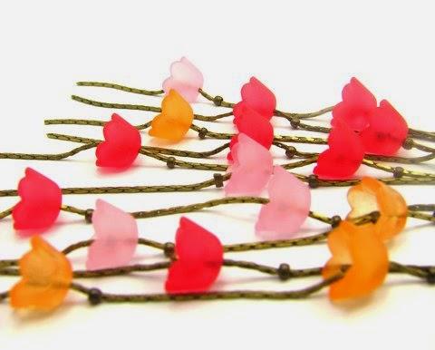 Mon bijou facile sautoir fleurs - Fleur commencant par t ...