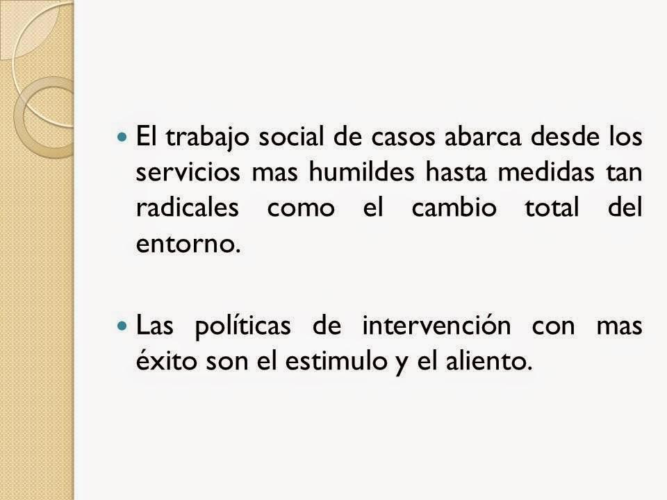 Trabajo social trabajo social de casos - Casos practicos trabajo social ...