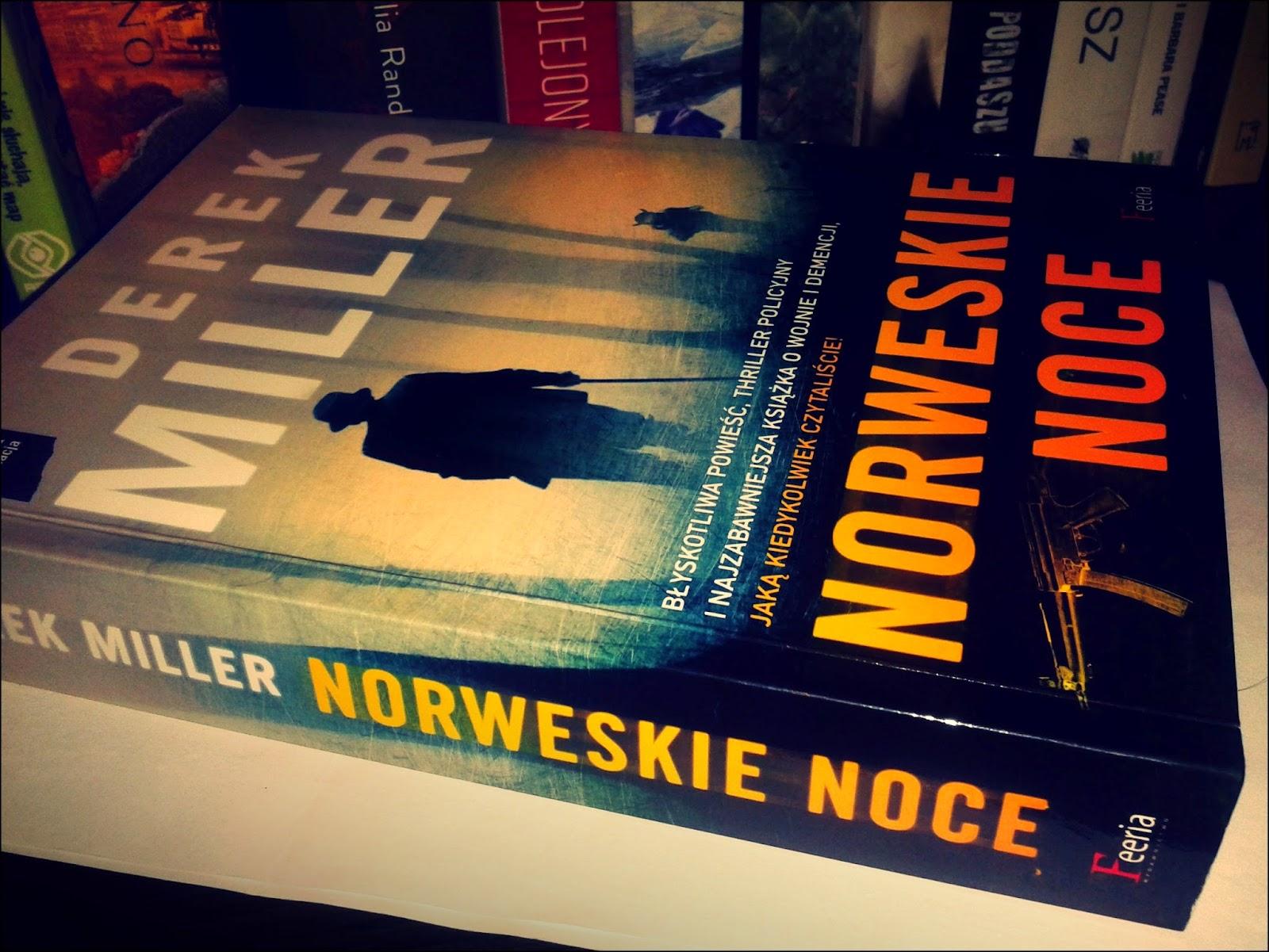 "Derek Miller ""Norweskie noce"" zdjęcie książki"