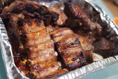 McCormick's Marinade in a bag - Ribs in Sticky BBQ Sauce