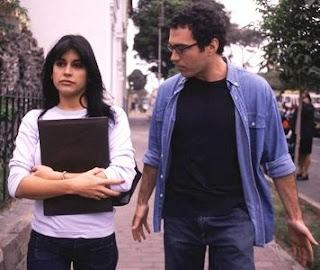 Salvador del Solar y Andrea Montenegro