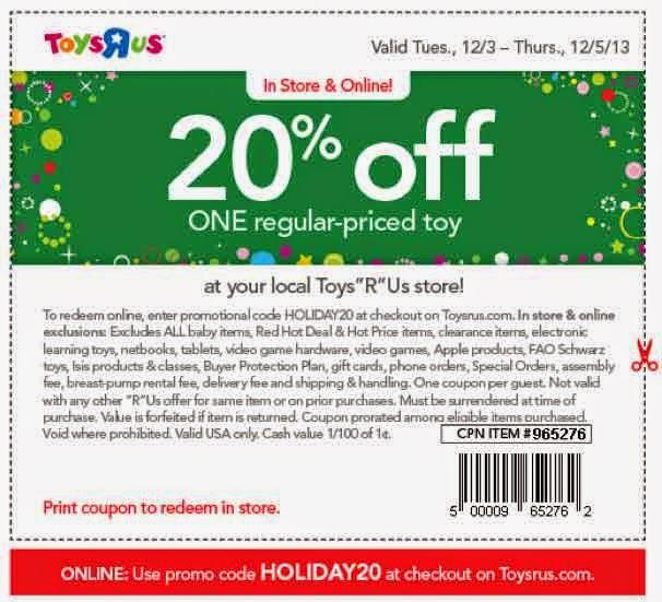 Www toysrus ca coupons