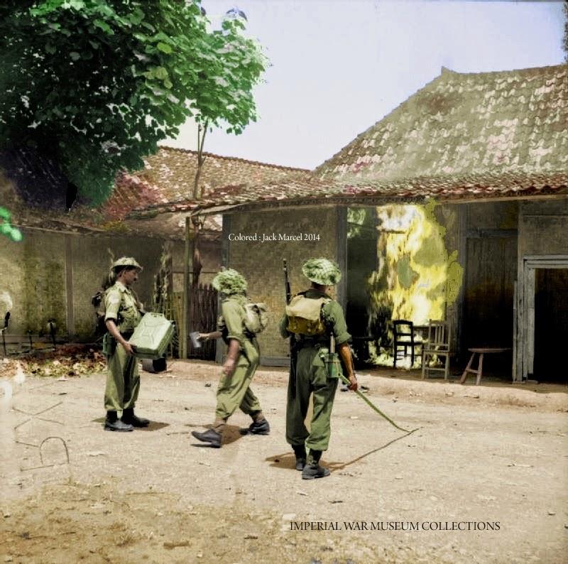 foto tentara inggris tempo dulu di bekasi