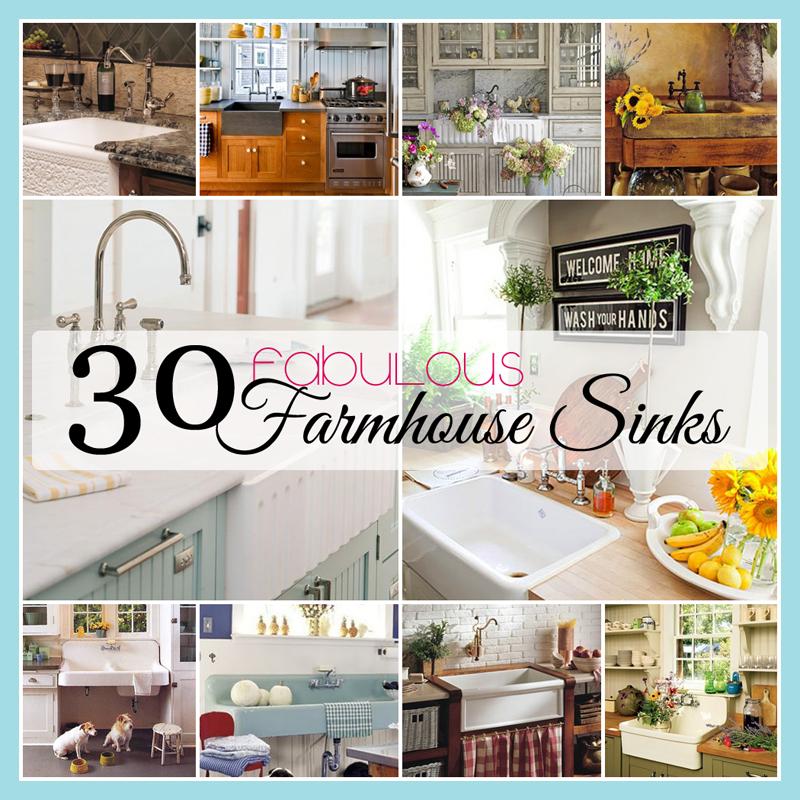 Cottage Kitchen Sinks: 26 Fabulous Farmhouse Kitchens
