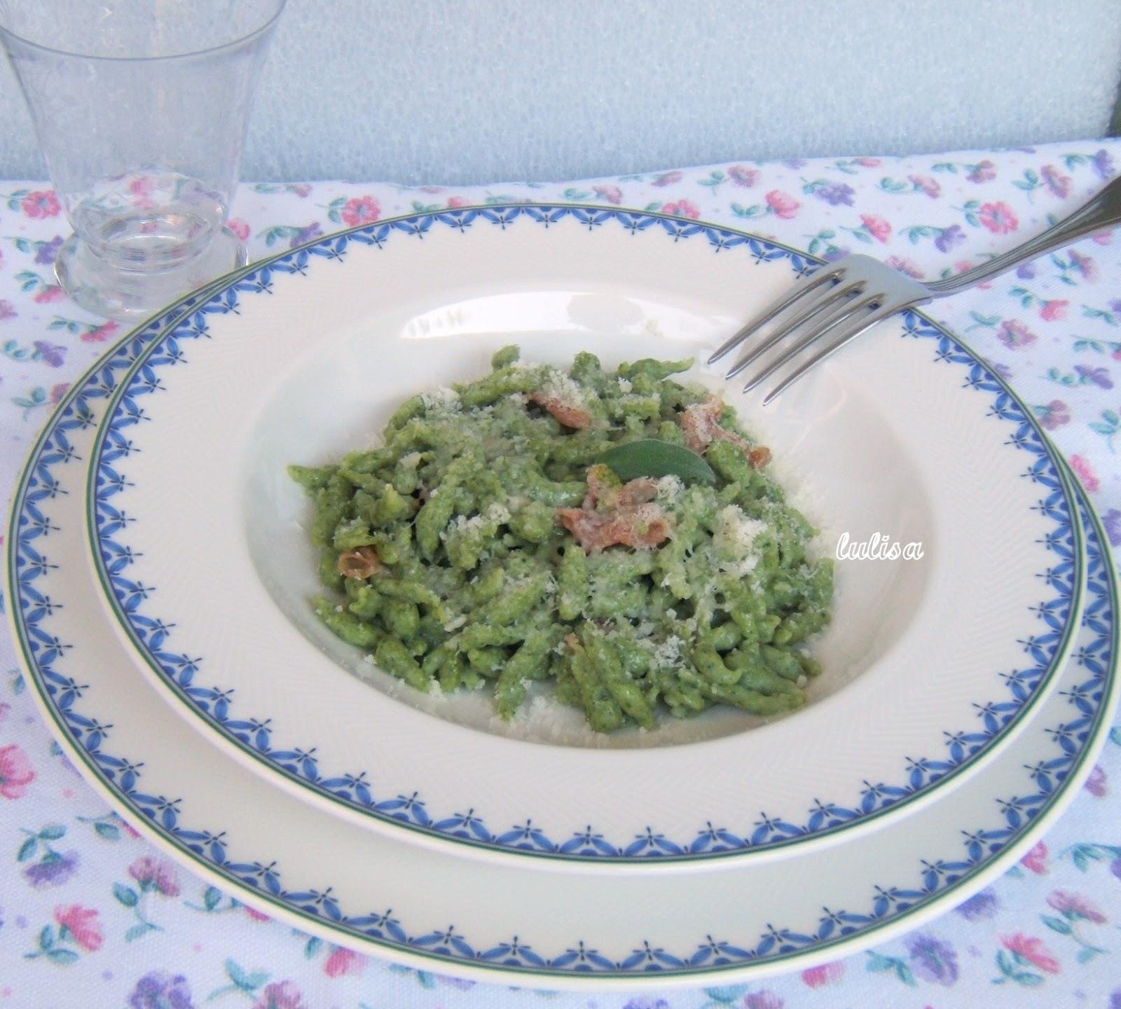 Lulisa giugno 2012 - Come cucinare gli spatzli ...
