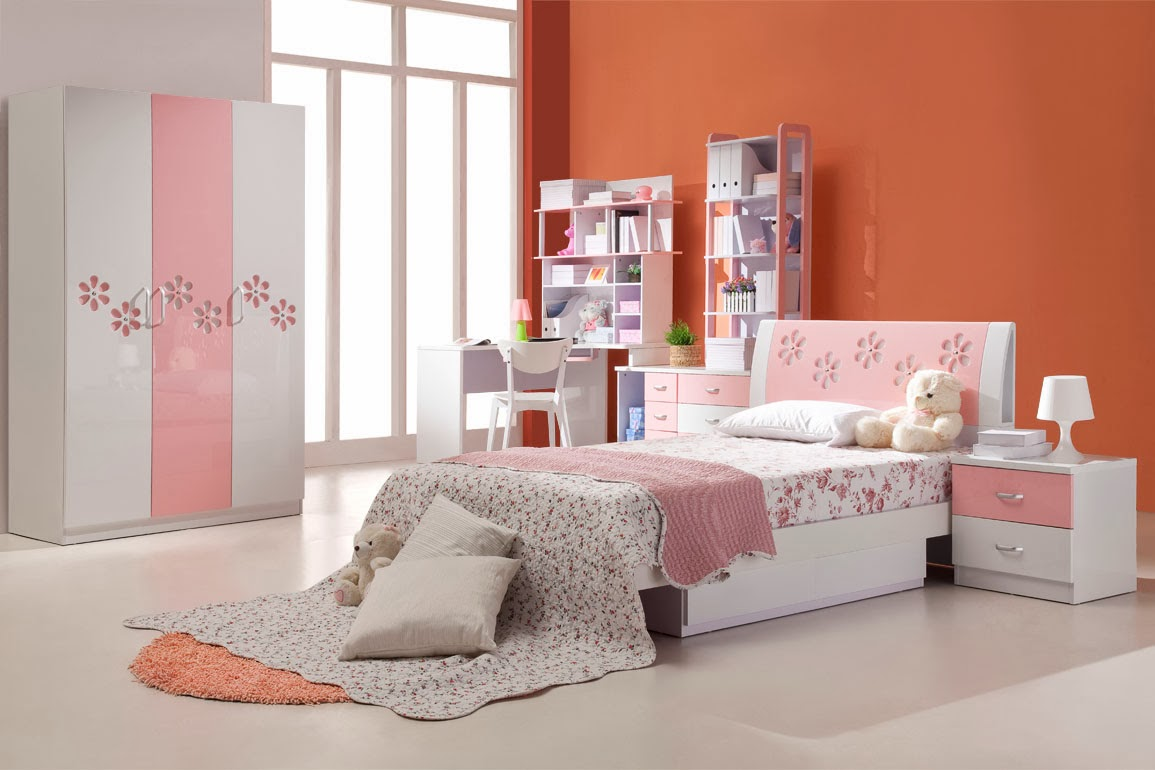 Bedroom Glamor Ideas Pastel pink