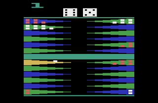 Backgammon para Atari 2600