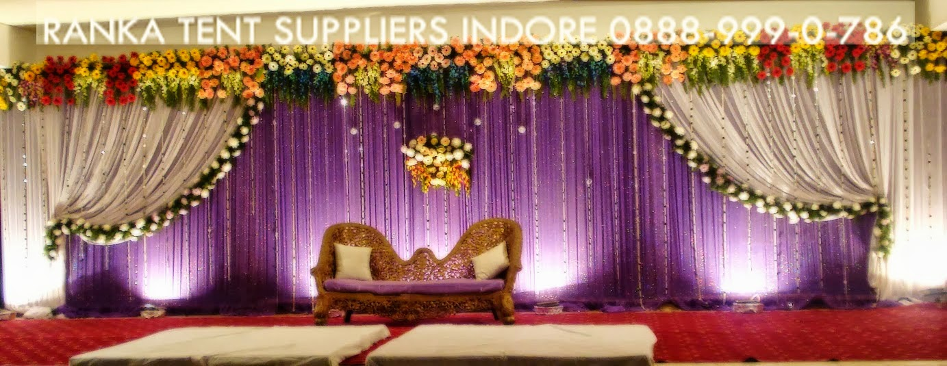 Tips For Your Wedding Reception Stage and Mandap Decoration : decorating tents for wedding receptions - memphite.com