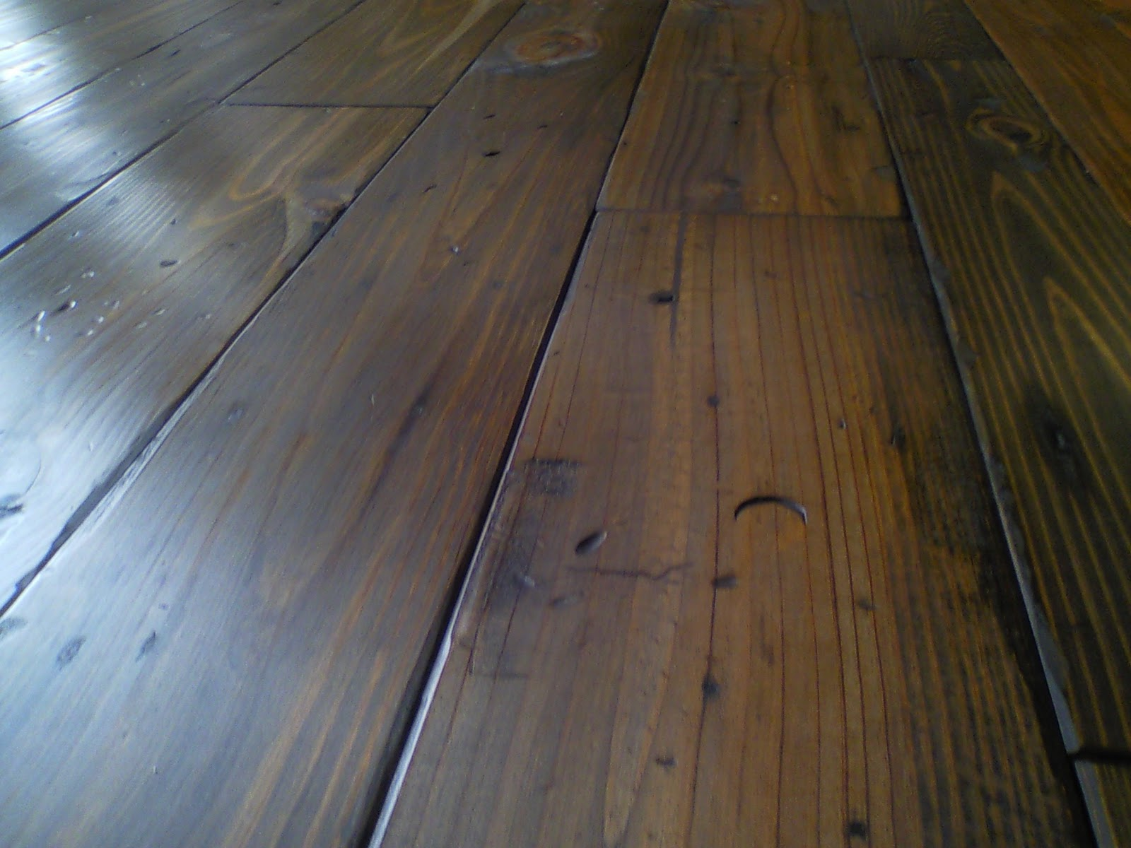 Authentic pine floors for Hardwood plank flooring