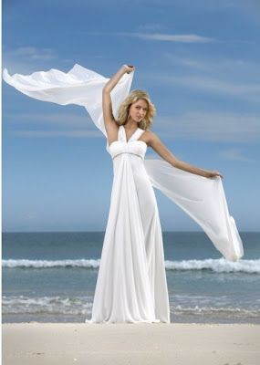 Chiffon Beach Wedding Dress