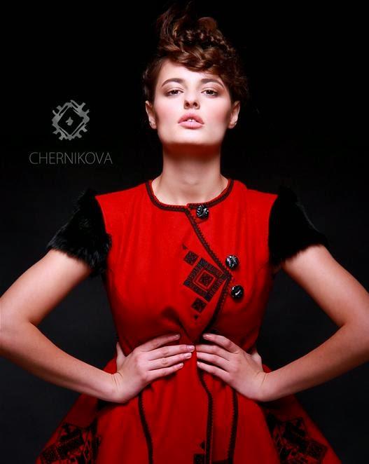 fashion from ukraine ukrainian ethno style chernikova. Black Bedroom Furniture Sets. Home Design Ideas
