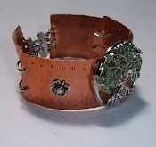 Copper jointed bracelet