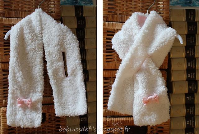 Echarpe / http://bobinesdefils.blogspot.fr