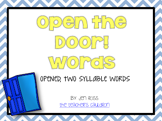 Printables Open And Closed Syllables Worksheets 2nd Grade fun with open and closed syllables teacher by the beach if you want to check out either of my syllable packs click pictures below