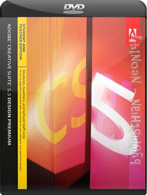 Adobe CS5.5 Design Premium Multilenguaje (Español) (2DVDs) (2011) (Mirrors)