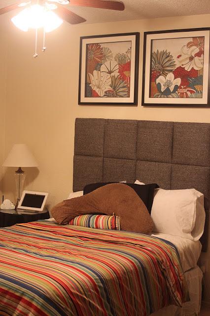 Embellish Tutorial Upholstered Headboard Squares