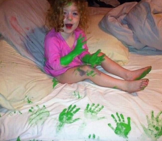Веселые дети и их шалости (18 фото)
