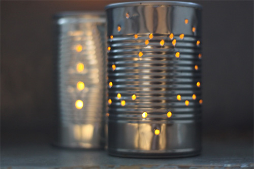 Patent Pending Projects: Tin Can Lantern Project