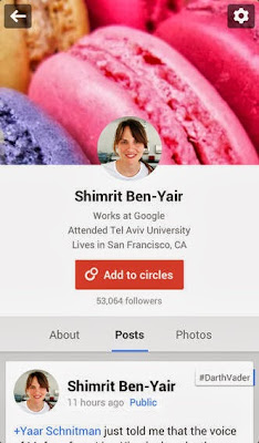 Google Plus for iPhone, iPad, iPod