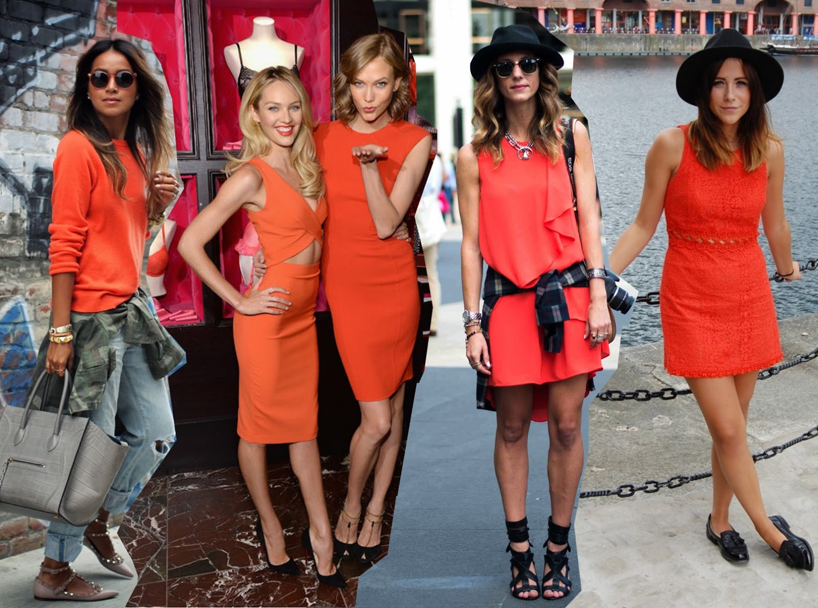 2014 Fashion Trends How To Wear Orange Streetstyle